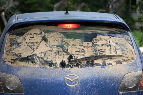 Blog: Dirty Car Art - Doodlers Anonymous