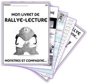 """Rallye-Lecture """"Monstres et Compagnie"""" : livret, affiches... chez Lutin Bazar"""