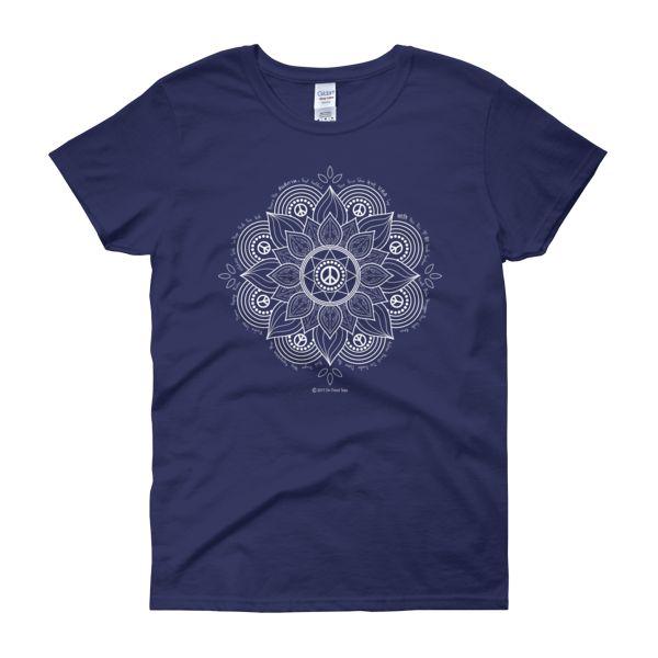 Peace Flower Women's Tee Shirt