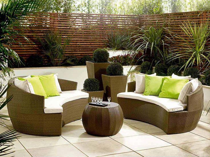 Modern kerti bútorok