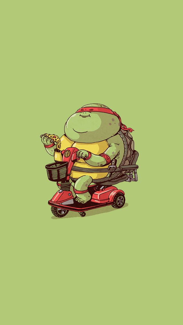 138 best wallpapers for iphone images on pinterest iphone fat mutant ninja turtles rapheal cute ninja turtles iphone wallpaper voltagebd Gallery