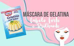 Máscara de gelatina | Receitas com gelatina incolor da hidratação de gelatina para fortalecer e dar brlho aos cabelos. A hidratação com gelatina incolor é maravilhosa para cabelos porosos, quebradiços e com frizz.