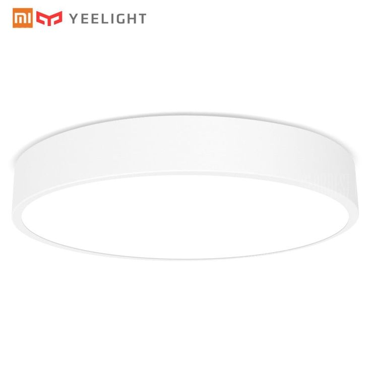 🏷️🐼 Xiaomi Yeelight Smart LED Ceiling Light-WHITE - 57.74€    Yeelight LED Ceiling Light – The World's First Lamp to Support both WiFi and Bluetooth The Yeelight smart ceiling light is deigned as sporting white color in a circular shape. It equipped with 240pcs OSRAM LEDs of a color rendering index that is up to 95Ra, providing museum lighting...  #BonsPlans, #Deals, #Discount, #Gearbest, #Promotions, #Réduc, #Xiaomi