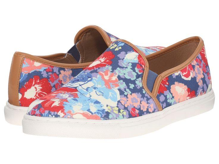 SPLENDID SPLENDID - SEASIDE (BLUE FLORAL CANVAS) WOMEN'S SHOES. #splendid #shoes #