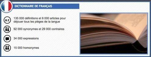 5 dictionnaires en ligne pour travailler le Français