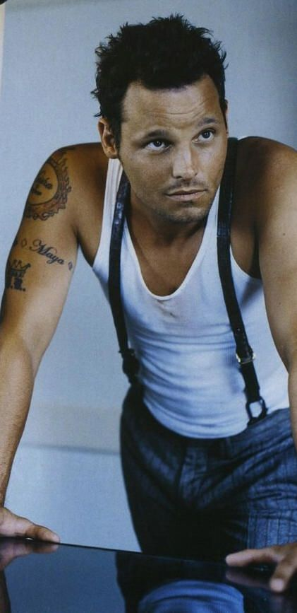 Justin Chambers. Just because he plays a jerk on Grey's doesn't mean a girl can't dream...