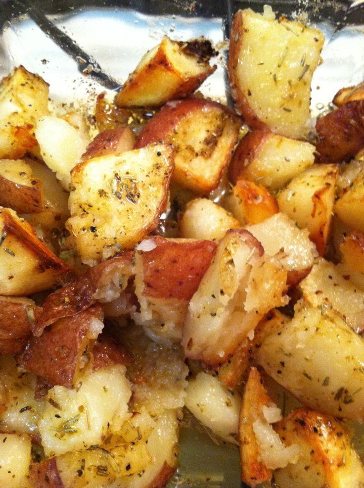 Rosemary Season Salt Roasted Potatoes