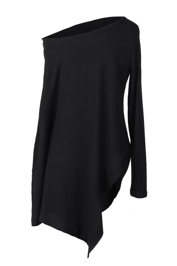 Cupshe Lover Rock Asymmetric Off the Shoulder Sweater