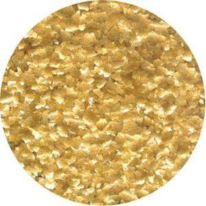 CK Products Edible Glitter - Metallic Gold - ¼ oz ** Learn more by visiting the image link.