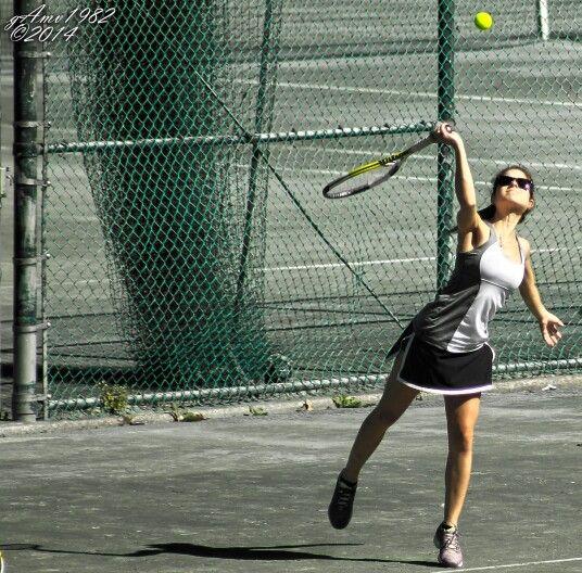 El tenis + la belleza.
