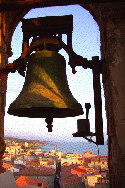 from the bell tower - Alghero Sardegna , province of Sassari.  Great memories of my mum (& dad) here on holiday with us.