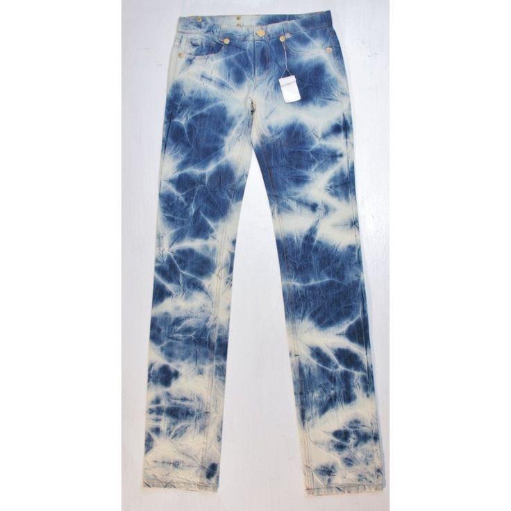 Iceberg  jeans W29/L36 femme Bleu/Blanc 11440
