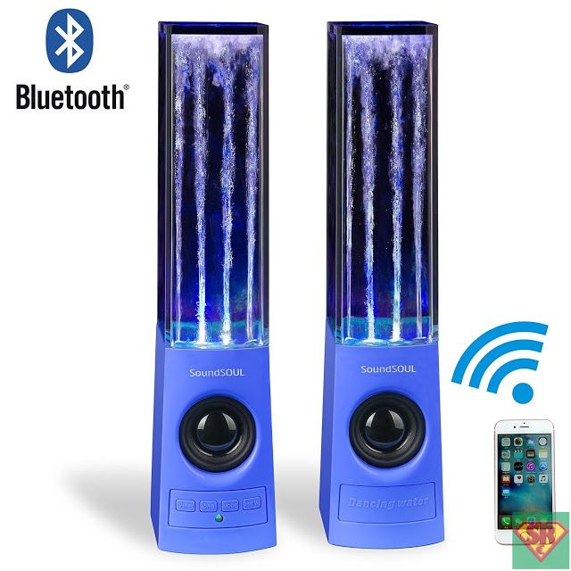 SoundSOUL Bluetooth altoparlanti acqua anima - Blu