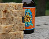 Michigan made Bell's Oberon Beer infused Soap - from Cheshire Fields