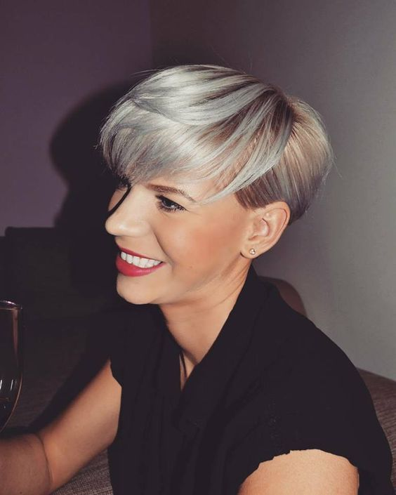 Image Result For Pixie Cut Mit Kurzem Pony Short Hairstyles