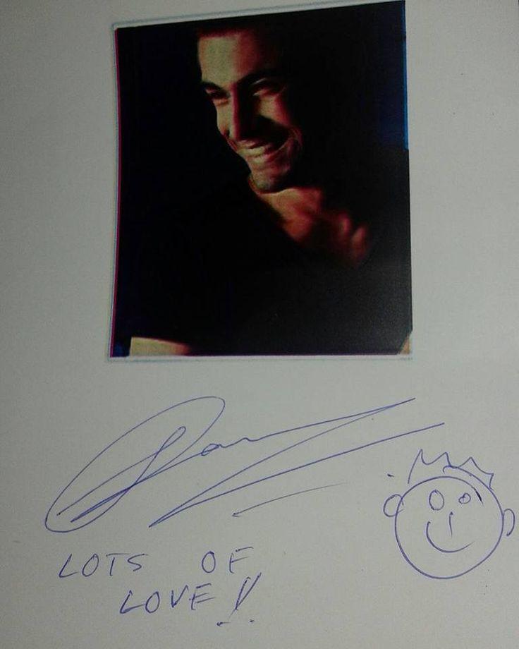 Sanam puri autograph