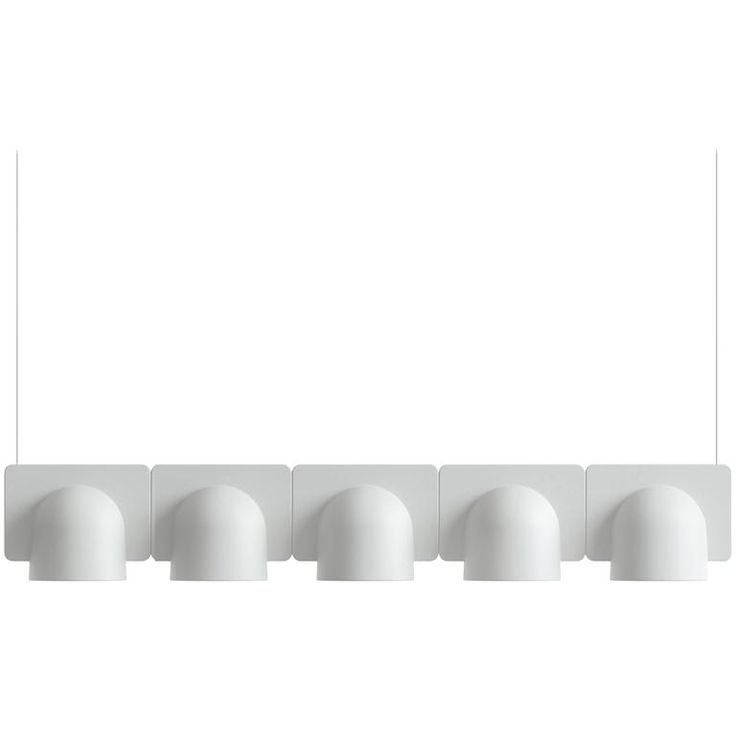 Studio Klass Fontana Arte Igloo System in Techno Polymer Plastic, Designed 2014 | From a unique collection of antique and modern chandeliers and pendants at https://www.1stdibs.com/furniture/lighting/chandeliers-pendant-lights/