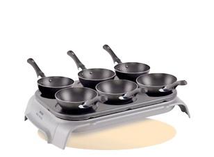 das wok party set mit pf nnchen als alternative zum raclette und fondue abend ausgefallene. Black Bedroom Furniture Sets. Home Design Ideas