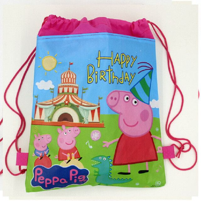 1 Pic children schoolbags Princess Drawstring Bags Cartoon For Girls & Boys multipurpose school backpack Christmas gifts48
