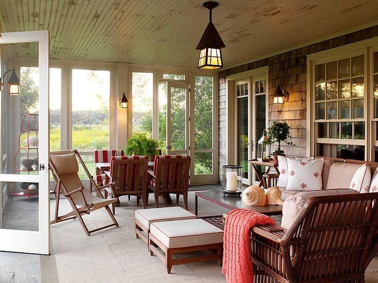 Bridgehampton Estate   Traditional   Porch   New York   David Scott  Interiors
