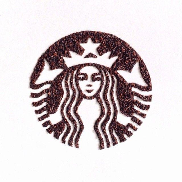 Une femme réalise de superbes dessins avec des grains de café !