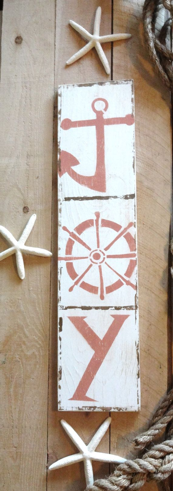 Beach decor adirondack chair beach christmas ornaments nautical - Christmas Joy By Meetmebyethesea Meet Me Bye The Sea Nautical Idea Would Be Good For Individual Letters To Go Horizontally On Mantel Shelf Wall Also I