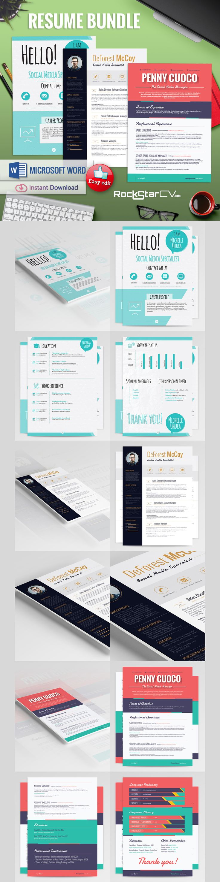 Resume Template Free Templates Free Business Resume