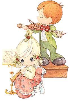 precious moments musicos