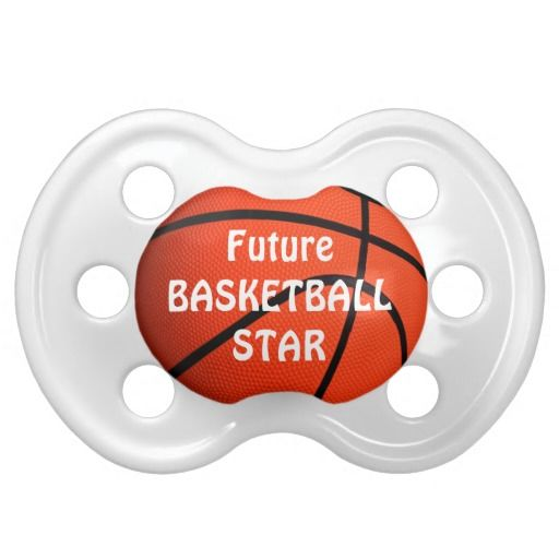 Future Basketball Star Baby Pacifier