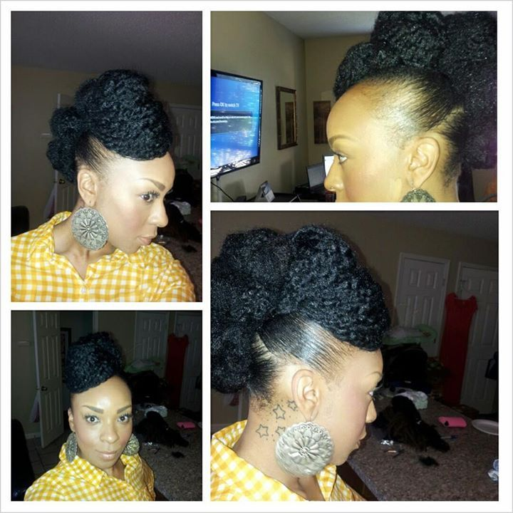 Marvelous 1000 Images About Natural Pinup Hairstyles On Pinterest Head Short Hairstyles Gunalazisus