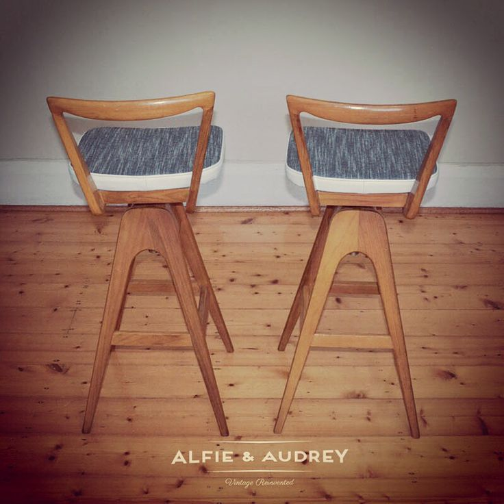 TH Brown swivel bar stools online now @ www.alfieandaudrey.com.au  Upholstered in James Dunlop fabric and cream leather.