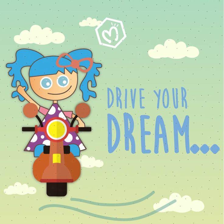 Conduce tus sueños y llévalos hasta dónde la imaginación no tenga limites. #Migas #FábricaDeSueños
