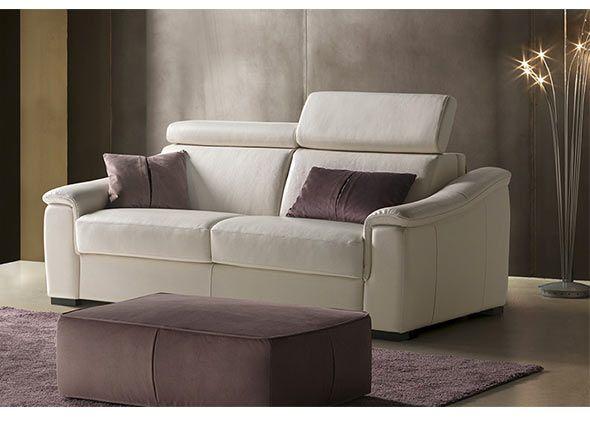 Divano letto con materasso alto cm. 18 modello Azzorre in vendita da Tino Mariani. http://www.tinomariani.it/prodotti/divano-letto-azzorre.html
