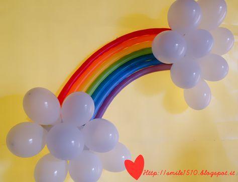 Ballando con Sofia: Decorazioni per una festa a tema arcobaleno