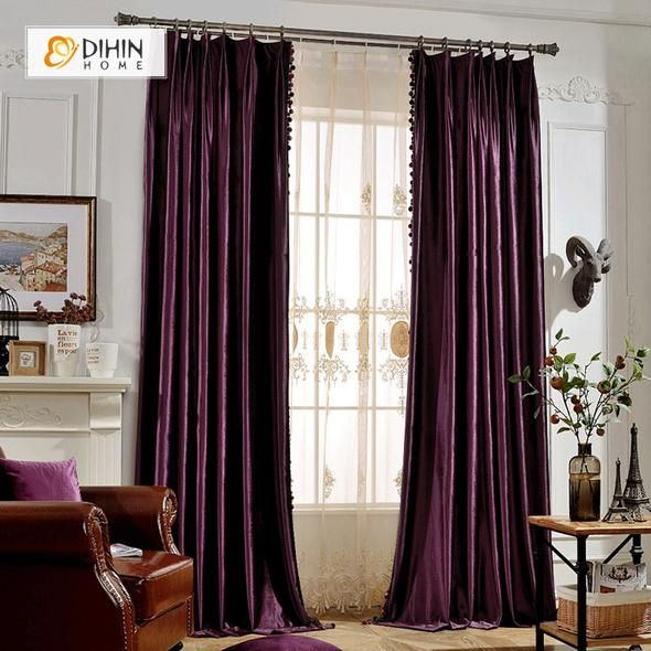 How To Make No Sew Black Out Curtains The Diy Playbook Curtains Diy Blackout Curtains How To Make Curtains