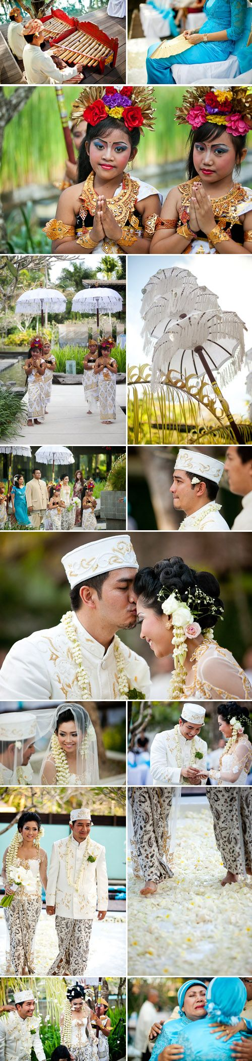 Traditional Indonesian Wedding in Bali | Junebug Weddings