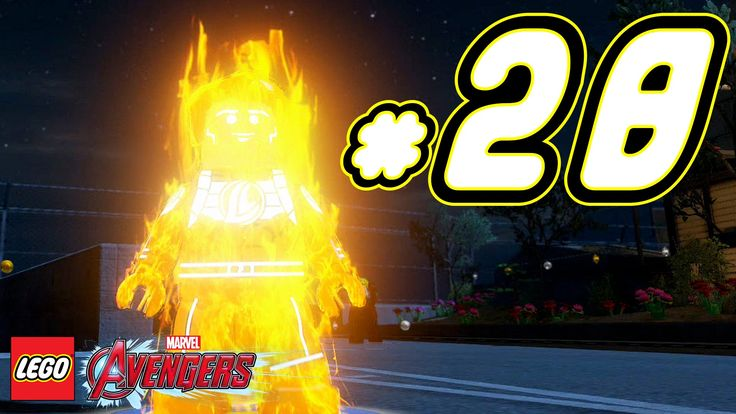 LEGO Marvel's Avengers ITA Avventura Mattoncini #28 - Torcia Umana - PS4...