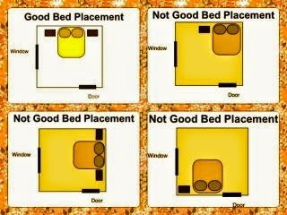 Master Bedroom Feng Shui - Bed Placement in the bedroom www.leovandesign.com
