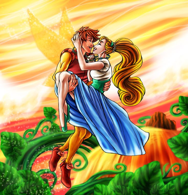 Cornelius and Thumbelina I know it's not Disney by the way just it's adorable and I like the movie:)