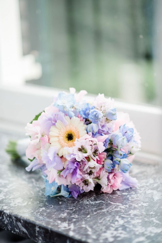 Romantic pastel. #wedding #bouquet