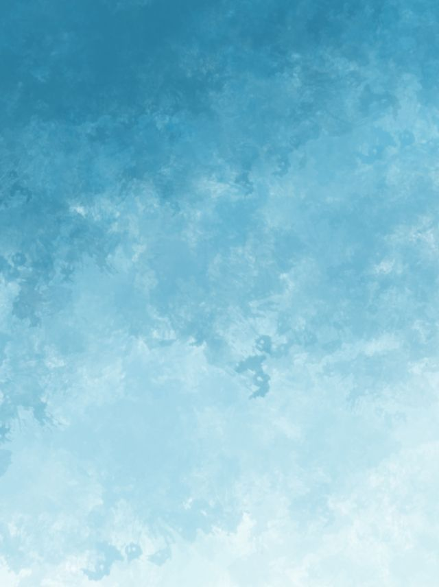 Sky Impression Blue Gradient Simple Watercolor Background In 2020