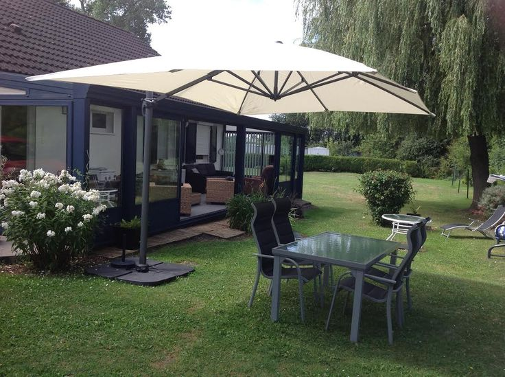 st jean de luz parasol d port 3x4m alice 39 s garden parasol terrasse parasol jardin design. Black Bedroom Furniture Sets. Home Design Ideas