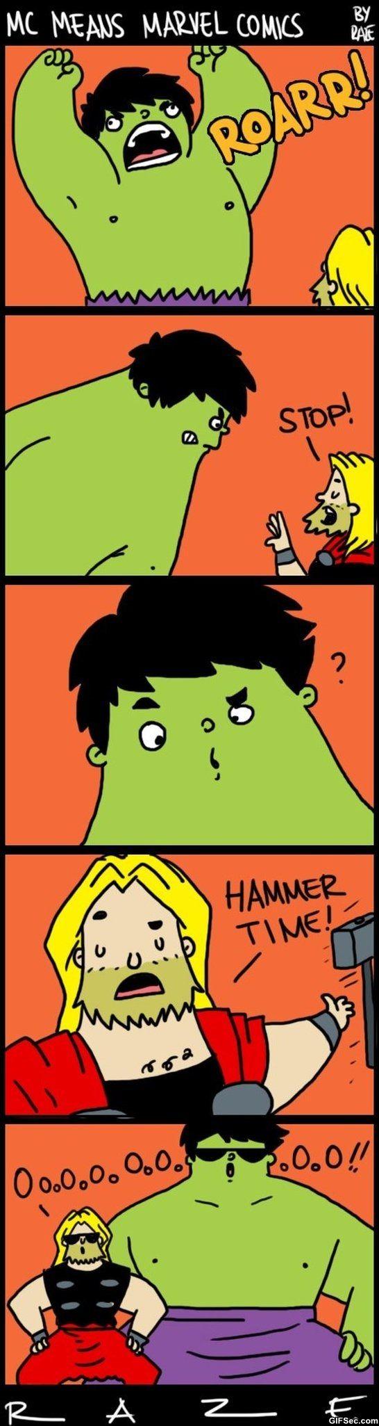 Funny Marvel Comics MEME Jokes 2014