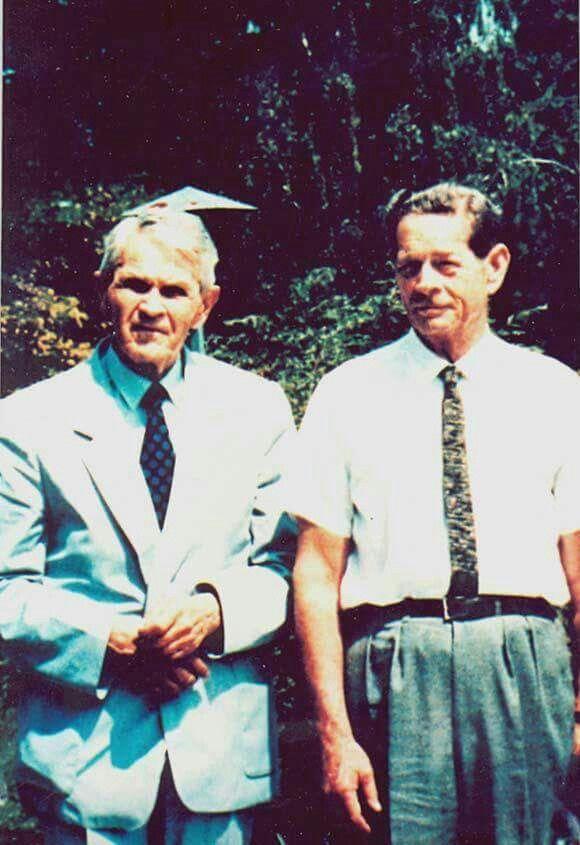 Regele Mihai si Cornleliu Coposu