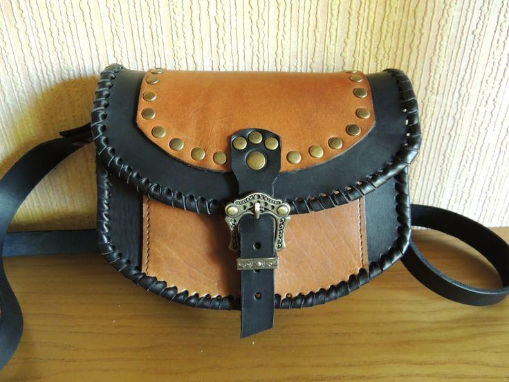 кожаная сумка Кельт