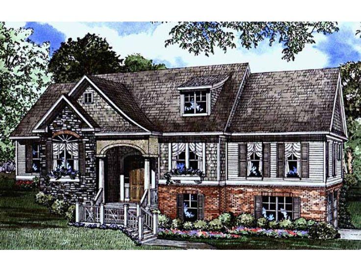 17 best ideas about split level house plans on pinterest - Contemporary split level home designs ...