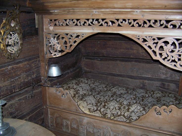 historic norwegian bed