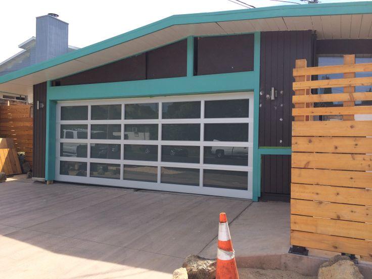 good work in progress midcentury modernmodern housesgarage doorsbeach - Mid Century Modern Garage Doors