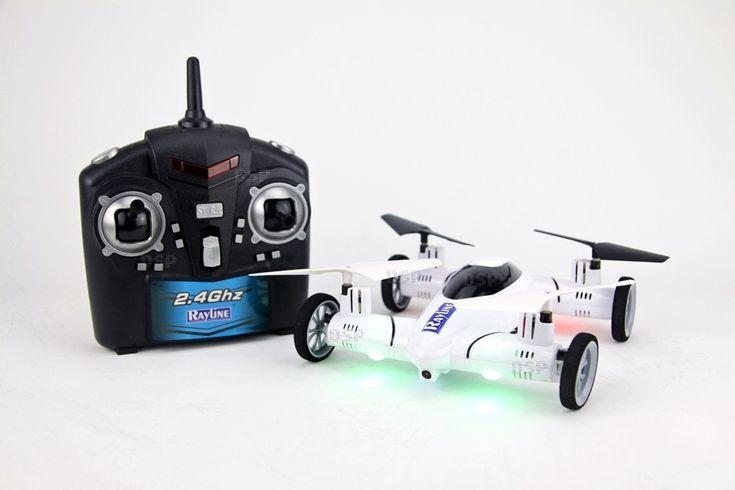 Funtom 25C Fliegendes Auto mit Kamera RC Quadrocopter