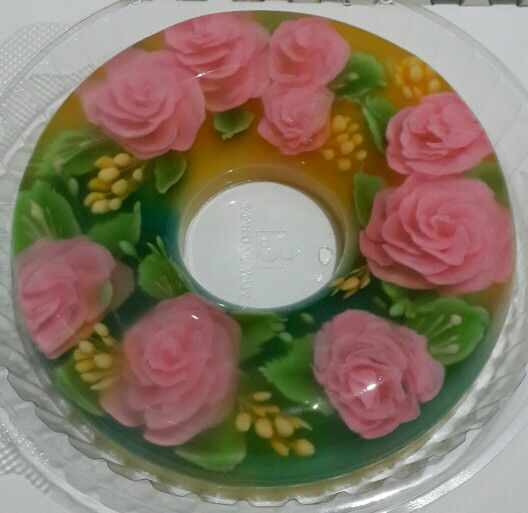 Tulban jelly with roses